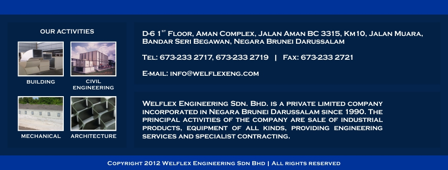 Welflex Engineering | Welflex Engineering Sdn Bhd | Brunei